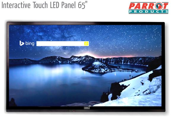 interactive touch led panel 65