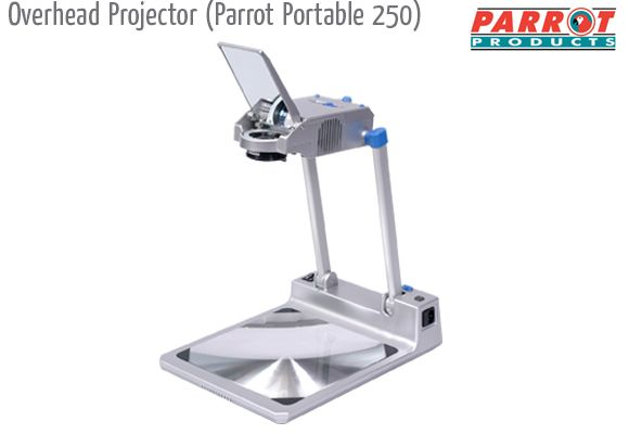 overhead projector parrot portable 250