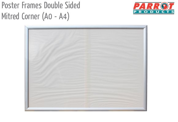poster frames double sided mitred cornera0 a4