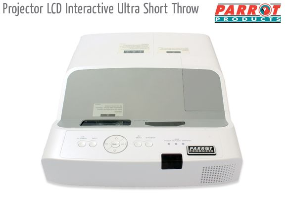projector lcd interactive ultra short throw