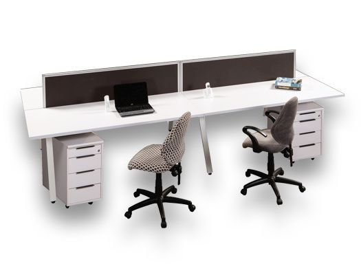 melamine desking astroid workstations