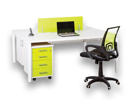 melamine desking euro colour desk