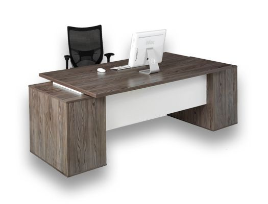 melamine desking evolution double pedestal desk