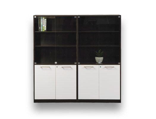 melamine desking evolution wall unit
