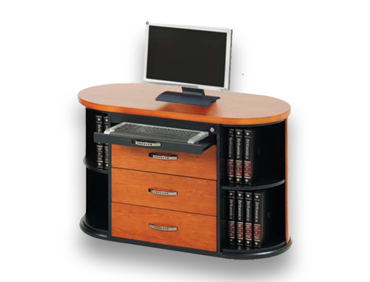 veneer desking bean2 computerstand