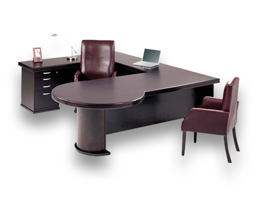 veneer desking boston2 executive desk