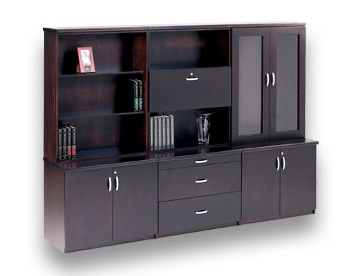veneer desking boston2 wall unit