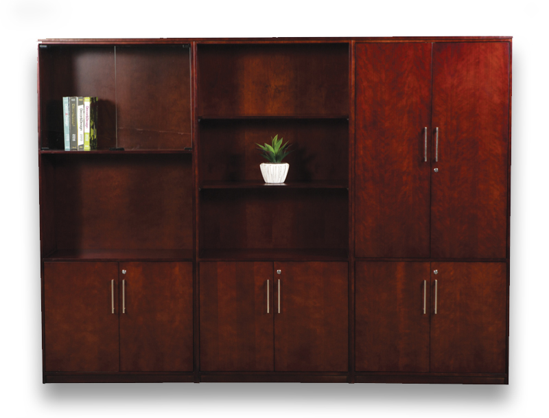 veneer desking excellence wall unit