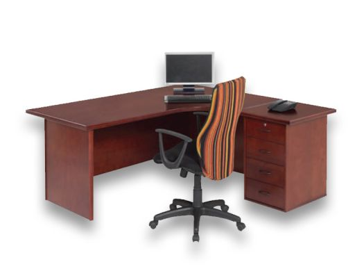 veneer desking spaceline2 desk